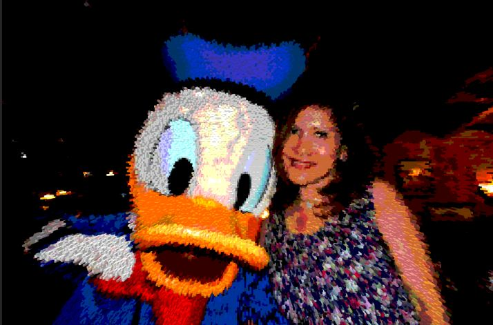 Donald duck & me